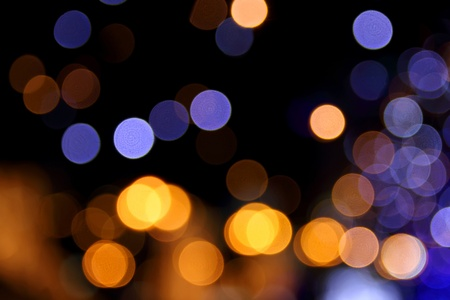 Abstract background of defocused shiny lights. photo