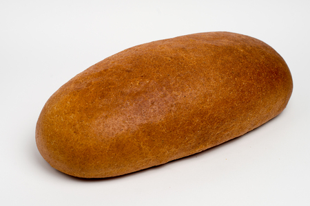 loaf of bread on a white background. isolate.