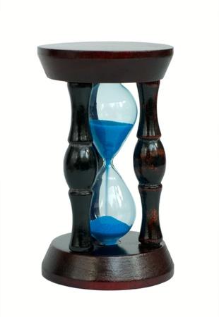 Hourglass isolated Stock Photo - 9916598