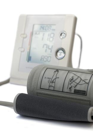 Usual medical tonometer on a white background Stock Photo - 10615626