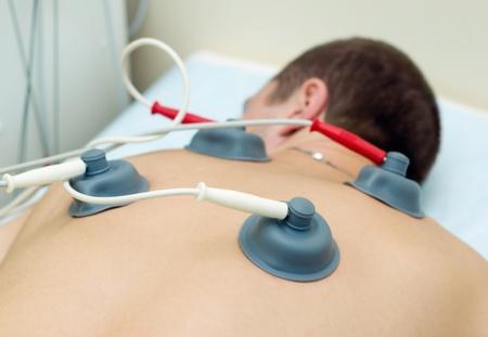 Electroth�rapie par l'�quipement de la th�rapie combin�e BTL-5800SL Banque d'images