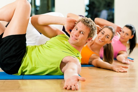 situps: Sit-ups in gym for fitness