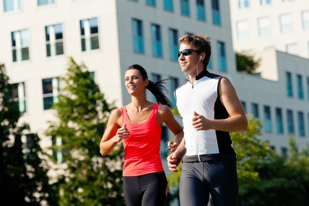 city life: Urban sports - fitness in the city