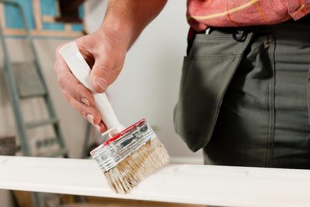 man painting: Man painting