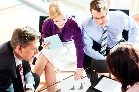 Business people having meeting or workshop in office   Stock Photo - 13452897