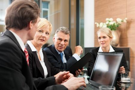 Business - Team-Meeting in einem B�ro
