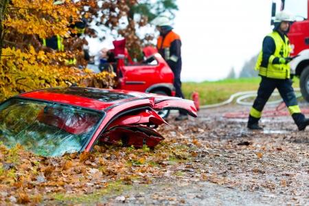 acidente: Acidente - Fire resgates brigada acidente V