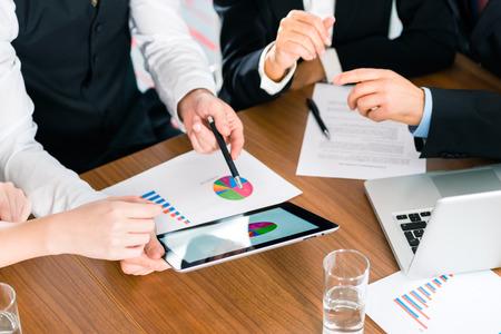 Business Manager en réunion Banque d'images - 30536968