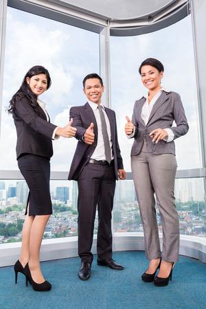 Asian business team meeting photo