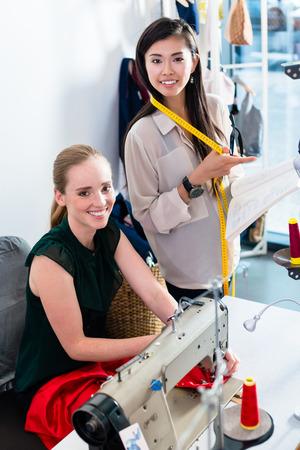 needlewoman: Tailors or fashion designer talk about pattern