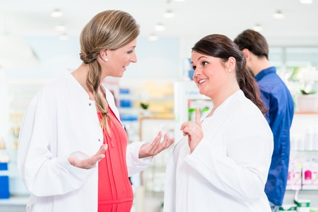 Pregnant pharmacist in protective employment ban and is forbidden to work