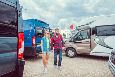 Couple facing abundance of choice in camper vans to buy