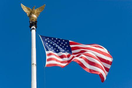 The United States flag Zdjęcie Seryjne - 8176679