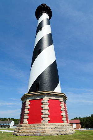 Cape Hatteras Lighthouse. Outer banks North Carolina, USA Zdjęcie Seryjne