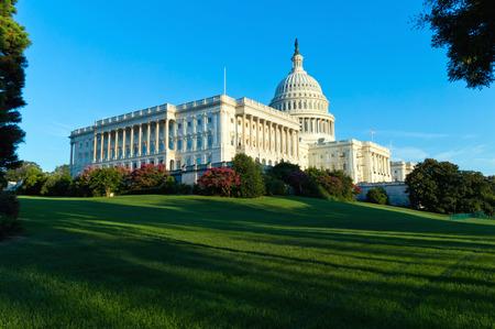 워싱턴 DC에서 국회 의사당 건물
