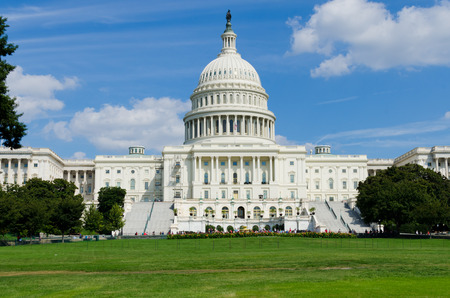 미국 국회 의사당 워싱턴 DC를 구축