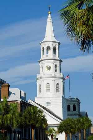 St. Michael Church in Charleston South Carolina
