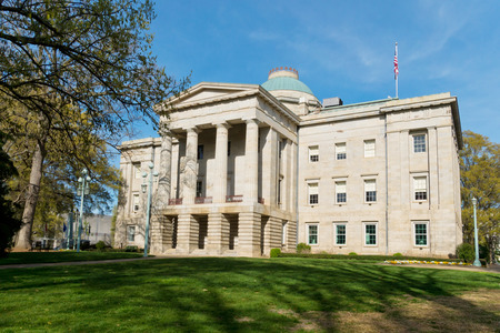 Historic state Capitol in Raleigh NC