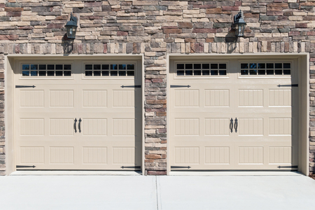 garage on house: Residential house car garage doors