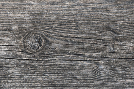 Wood with grain and knothole Stock Photo