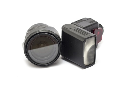 lens and flash