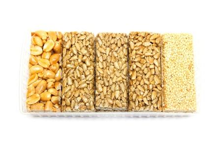 gozinaki: sorbet of seeds, nuts, sesame seeds