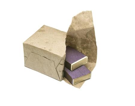 box of matches Stock Photo - 17635889
