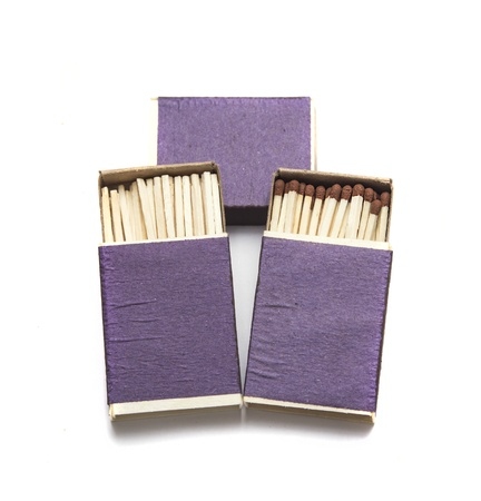 box of matches Stock Photo - 17646098