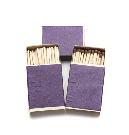 box of matches Stock Photo - 17646098