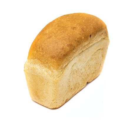 bread on a white background Stock Photo - 17646336