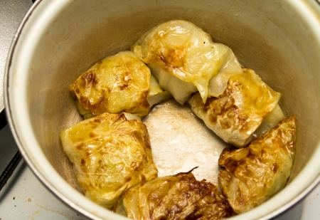 cooking cabbage photo