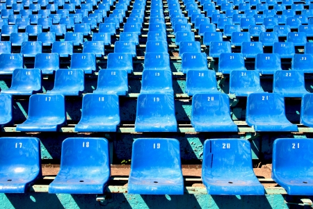 baseball stadium: seat stadium