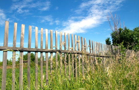 fence in the sky photo