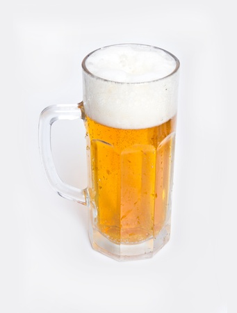 Beer in a glass Stock Photo - 18447702