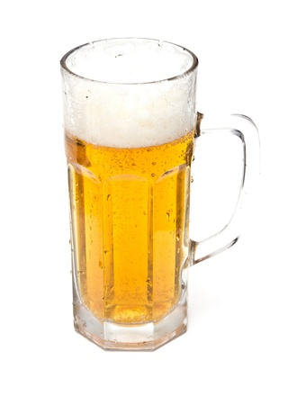 Beer in a glass Stock Photo - 18447688