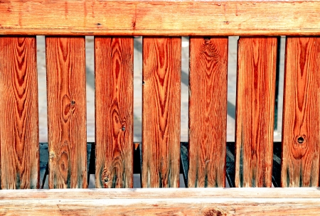 Wooden fence photo