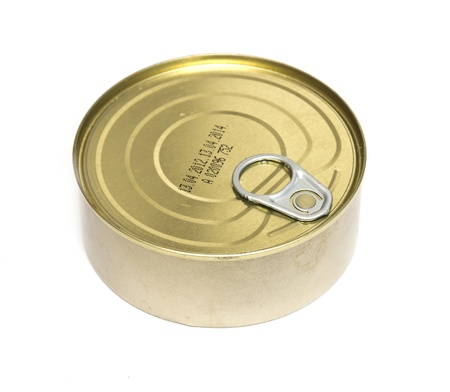canned food: Tins canning, with a shelf life