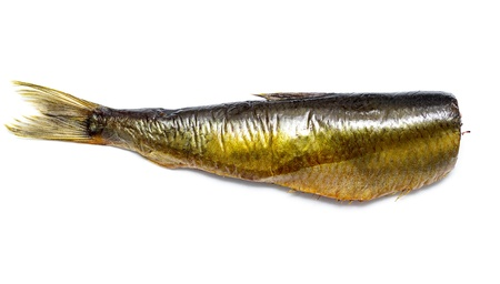 smoked herring fish without head Stock Photo