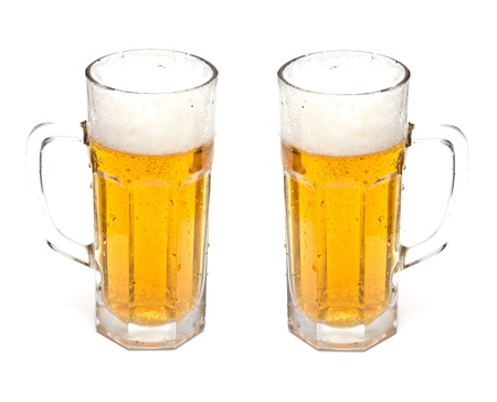 Beer in a glass Stock Photo - 18806539