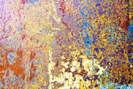 rust red: Fondo de metal oxidado