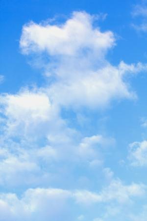 clouds blue sky: blue sky clouds Stock Photo