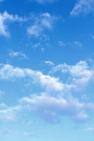 blue sky background: blue sky clouds Stock Photo