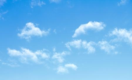 blue sky clouds Foto de archivo