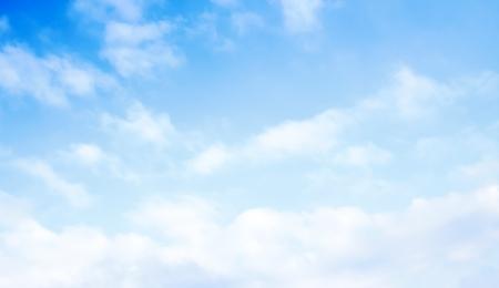 blue sky clouds Standard-Bild