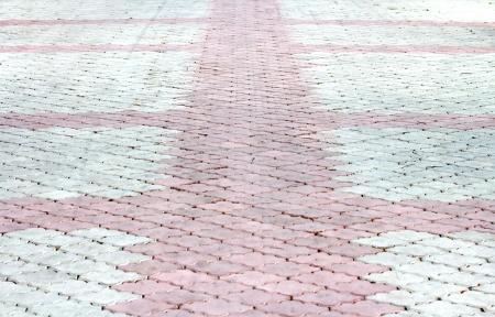 patroon vloertegels Stockfoto