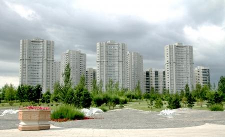 astana: Astana Skyline City of Expo 2017 Stock Photo