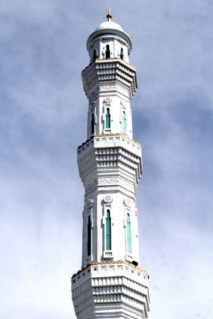 prachtige moskee in Astana