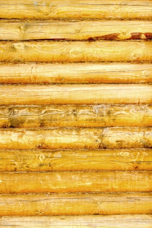 Log house texture as a grunge background photo
