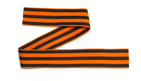 St. George ribbon isolated on white Stock Photo - 22691549