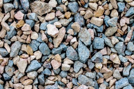 stone rock pieces crushed gravel texture photo